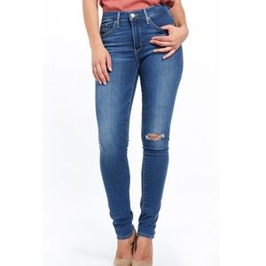 Levi's 311 Premium Distressed Shaping Skinny Jeans